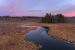 Sunset at Thousand Acre Swamp, Phillipston, MA