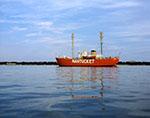 Nantucket Lightship in Nantucket Harbor