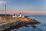 Sunset at Eastern Point Lighthouse, Cape Ann, Gloucester, MA