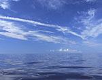 Seascape, Waters between Southern Rhode Island Coast and Block Island, RI