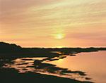 Sunset over Salt Marsh on Great Island, Cape Cod National Seashore