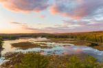Colorful Sunset at Royalston Eagle Reserve, Royalston, MA