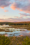Colorful Sunset at Royalston Eagle Reserve, Royalston, MA