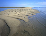 Sandbars at Very End of Great Island, Cape Cod National Seashore