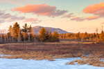 View of Mt. Monadnock from Scott Brook in Late Evening Light, Fitzwilliam, NH