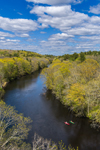 Quinebaug River in Spring, Killingly and Pomfret, CT