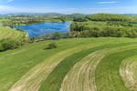 Farm Fields in Spring near Round Pond, Hudson River Valley, Duchess County, Amenia, NY