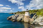 Castle Hill Lighthouse, Narragansett Bay, Newport, RI