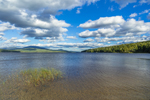 Clouds over Kennebago Lake on a Windy Day, Kennebago Lake Region, Stetsontown TWP, ME