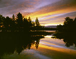 Sunrise over Sportsman Pond