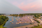 York Harbor at Sunset, York Harbor, York, ME