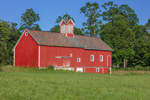 Big Red Barn with Cupola, Manchester, VT