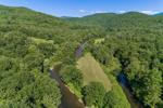 Batten Kill River in Summer, View from Salem, NY