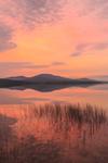 Colorful Sunrise over Calm Waters of Kennebago Lake, Kennebago Lake Region, Stetsontown TWP, ME