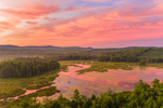 Sunrise at Converse Meadow Pond, Rindge, NH