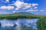 Cummings Meadow Reservoir with Mount Monadnock in Background, Jaffrey, NH