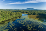 Pearly Lake in Early Morning with Mount Monadnock in Distance, Rindge, NH