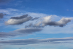 Clouds over Kennebago Lake, Rangeley Lakes Region, Stetsontown Township, ME