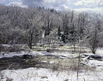 Millers River after Ice Storm