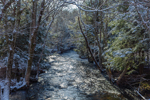 Fenton River after Dusting of Snow, Mansfield, CT