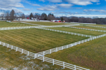 Pastures and Fences at Sawmill River Farm, West Brookfield, MA