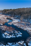 Fivemile River on Sunny Winter Day after Fresh Snowfall, Killingly, CT