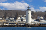 Portsmouth Harbor Lighthouse at Fort Constitution, New Castle, NH