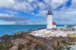 Annisquam Harbor Lighthouse, Wigwam Point, Cape Ann, Gloucester, MA