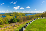Spring Arrives at Quabbin Reservoir, View from Enfield Lookout, Quabbin Reservation, Ware, MA