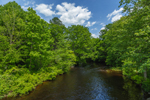 Patchaug River in Spring, Chaplin, CT