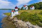 Squirrel Point Light Station on Kennebec River, Arrowsic, ME