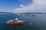 Lobster Boats in Stonington Harbor, Deer Isle, Stonington, ME