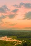 Sunset at Lawrence Brook, Royalston, MA