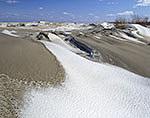 Windswept Snow and Dunes, Crane Beach