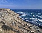 Mohegan Bluffs in Heavy Winds