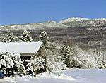 Farm and Mt. Monadnock in Winter