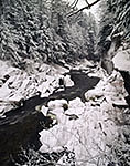 Chesterfield Gorge in Winter, Westfield River