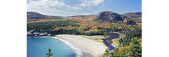 Sand Beach and The Beehive in Fall