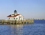Roanoke Marshes Lighthouse, Part of North Carolina Maritime Museum, Roanoke Island Festival Park, Outer Banks