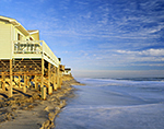 Ocean-front Houses on Bodie Island,