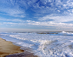 Beach and Surf at Bodie Island,