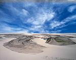 Wind-swept Dune Patterns, Pea Island National Wildlife Refuge, Cape Hatteras National Seashore,
