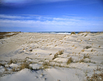 Dunes, Beach and Atlantic Ocean at Pea Island National Wildlife Refuge, Cape Hatteras National Seashore,