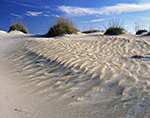 Wind-created Sand Patterns in Dunes at Pea Island National Wildlife Refuge, Cape Hatteras National Seashore,