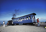 Cog Railway at Summit of Mt. Washington,