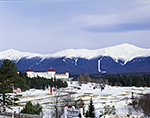 Mt. Washington Hotel and Presidential Range in Winter, Bretton Woods, Carroll, NH