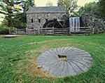 Wayside Inn Grist Mill in Fall