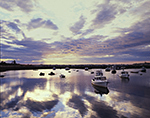 Dramatic Sunrise over Boats in Matinicus Harbor, Matinicus Island