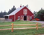 Red Barn at Hickory Hill Farm, Mt. Desert Island