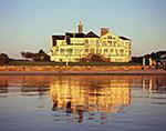 Harborside Home with Reflection, Katama Bay, Edgartown Harbor, Martha's Vineyard